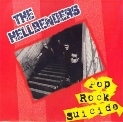 HELLBENDERS- Pop Rock Suicide LP ~RED WAX LTD TO 100! - Dead Beat - Dead Beat Records