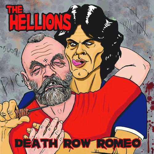 "Hellions- Death Row Romeo 7"" ~DWARVES / RARE PINK WAX!"