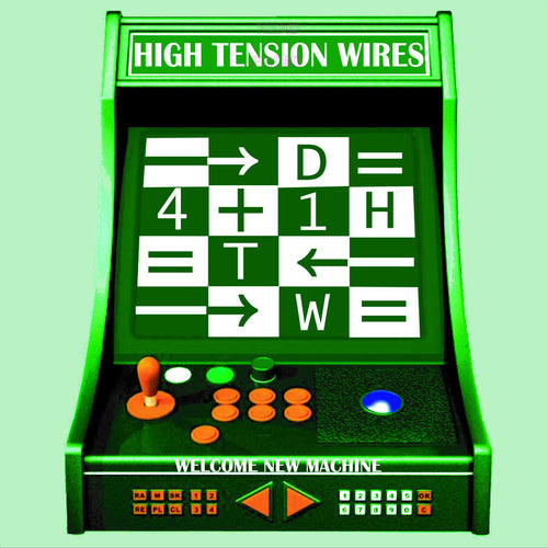 High Tension Wires- Welcome New Machine LP ~EX RIVERBOAT GAMBLERS /  MARKED MEN!
