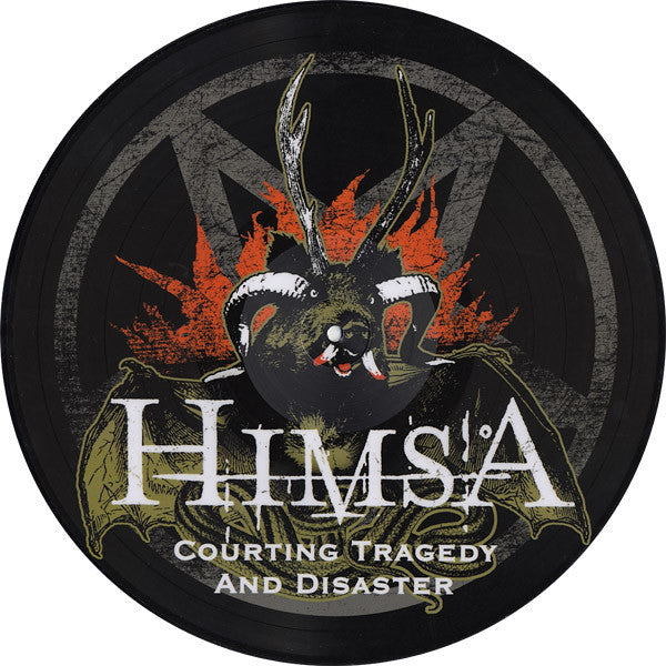 HIMSA- Courting Tragedy LP ~PICTURE DISC! - Excursion Records - Dead Beat Records