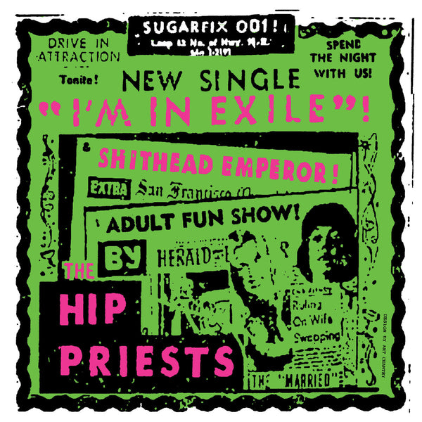 "Hip Priests / Maximum RnR- Split 7"" ~KILLER!"