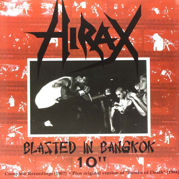 "Hirax- 'Blasted In Bangkok' 10"" ~REISSUE!"