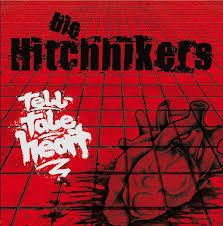 "Die Hitchhikers – Tell-Tale Heart 10"" ~RARE RED/WHITE WAX! - Wanda - Dead Beat Records"