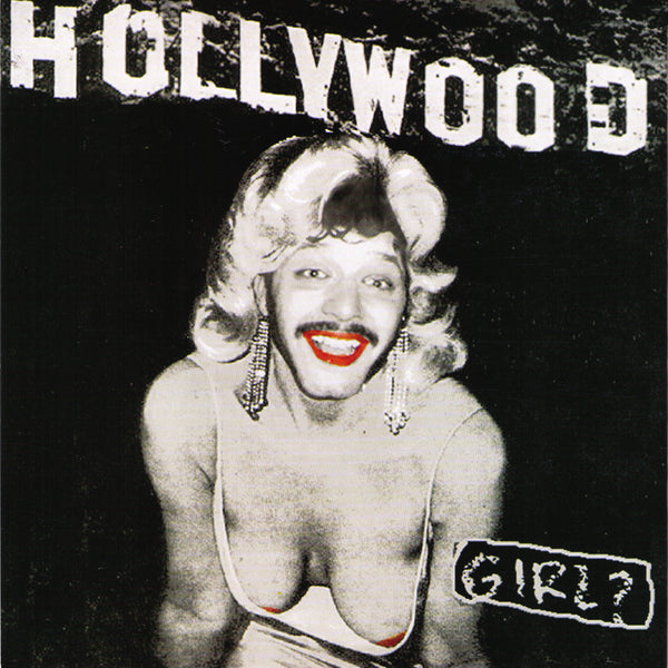 "Hollywood - Girl? 7"" ~BLACK LIPS!"