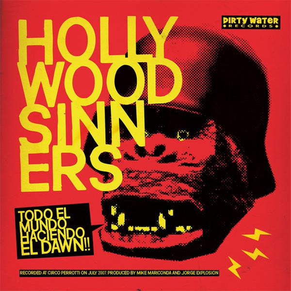"Hollywood Sinners / Urges- Split 7"" ~THE SONICS!"