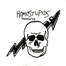 "Homostupids- The Glow 7"" - My Minds Eye - Dead Beat Records"