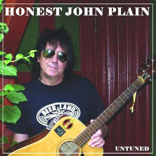 Honest John Plain- Untuned LP ~EX THE BOYS / LTD 200 GREEN!