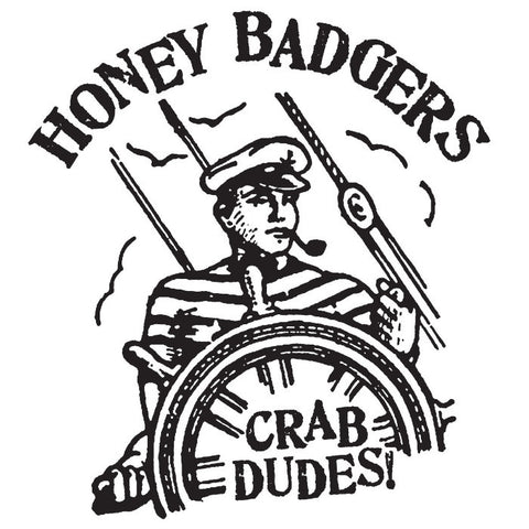 "Honey Badgers- Crab Dudes 7"" ~EX STREET TRASH!"
