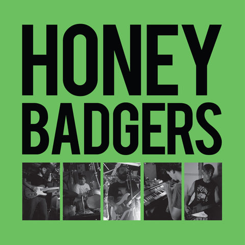 Honey Badgers- Buena Park LP - RESURRECTION - Dead Beat Records