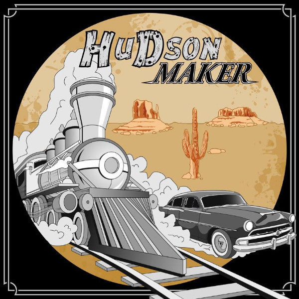 Hudson Maker- Crazy Train LP - Beast - Dead Beat Records