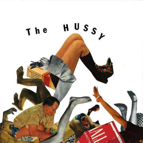 "Hussy- I See Just Fine 7"" ~RARE WHITE WAX!"