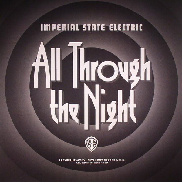 Imperial State Electric- All Through The Night LP ~RARE WHITE WAX / EX HELLACOPTERS!
