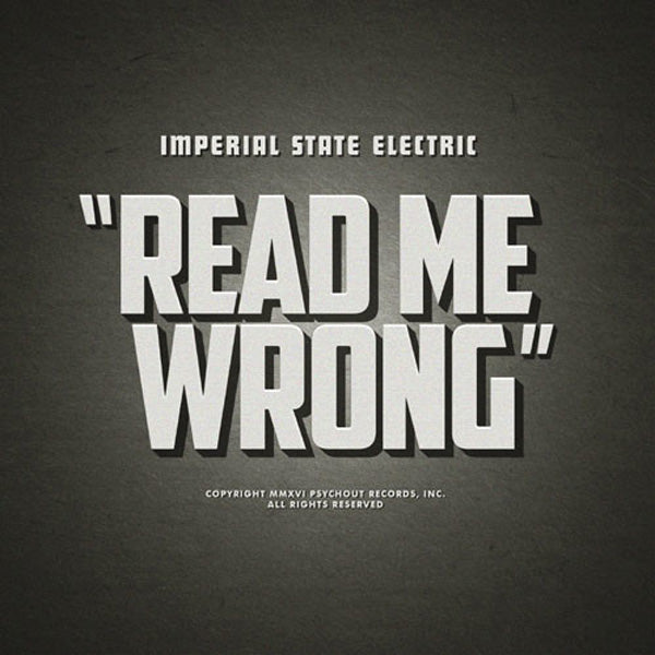 Imperial State Electric- Read Me Wrong LP ~EX HELLACOPTERS!