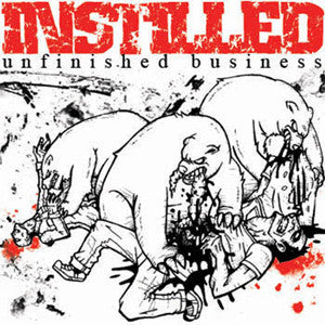 "Instilled- Unfinished Business 7"" ~LTD CLEAR WAX!! - State Of Mind - Dead Beat Records"