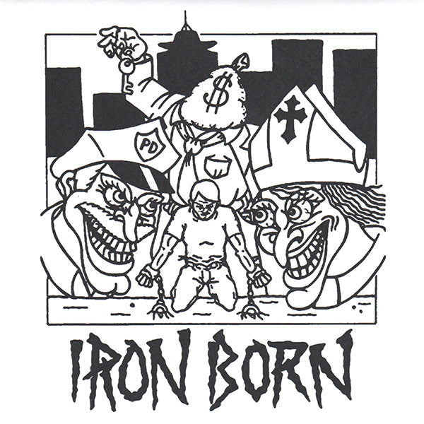 "Iron Born- S/T 7"" ~INTEGRITY!"