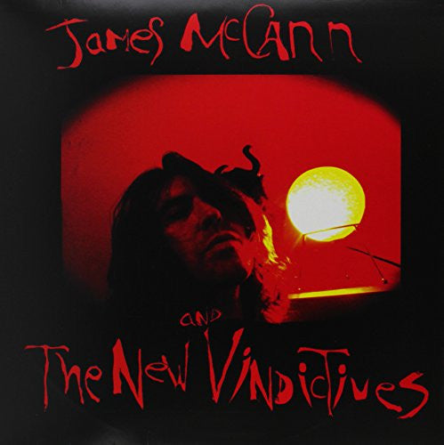 JAMES McCANN and THE NEW VINDICTIVES- S/T LP ~EX X (AUSTRALIA) - Beast - Dead Beat Records