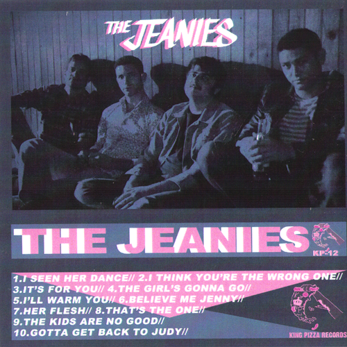The Jeanies- S/T CS ~MILK 'N COOKIES!