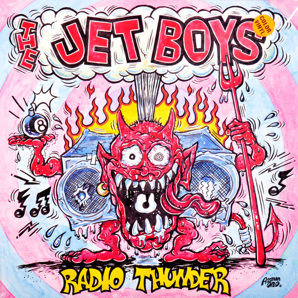 "Jet Boys- Radio Thunder 10"" ~RARE PINK WAX!"