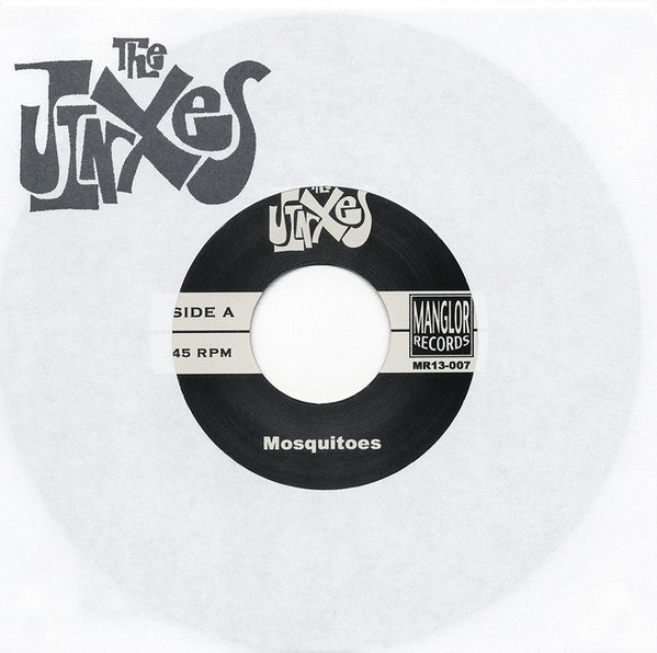 "The Jinxes- Mosquitoes 7"" ~THE MUMMIES! - Manglor - Dead Beat Records"