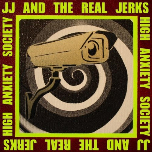 "JJ & The Real Jerks- High Anxiety Society 7"" ~ RARE 300 MADE! - Kung Pao - Dead Beat Records - 1"
