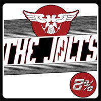 The Jolts- 8% LP ~RARE CLEAR WAX!! - Sudden Death - Dead Beat Records