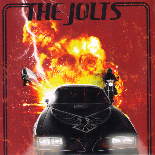 "The Jolts- Born Speedin 7"" ~RARE RED WAX! - Eat Shit Die - Dead Beat Records"