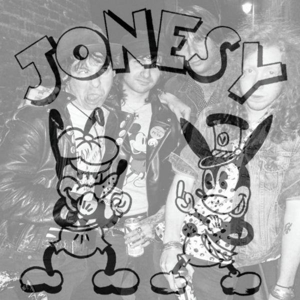 "Jonesy- S/T 7"" ~RARE ALT COVER LTD TO 100! - NO FRONT TEETH - Dead Beat Records"