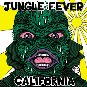 "Jungle Fever- California 7""  ~EX WILD WEEKEND! - Surfin Ki - Dead Beat Records"
