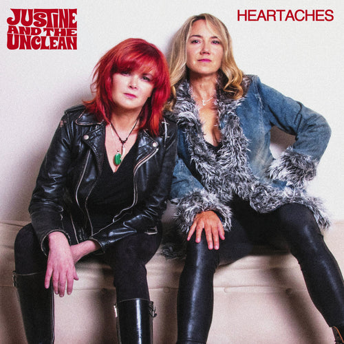 Justine And The Unclean- Heartaches CD ~EX UPPER CRUST / THE LYRES!