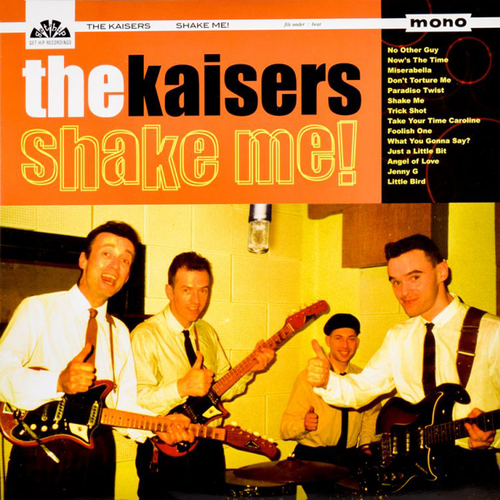 The Kaisers- Shake Me! CD ~THE SHADOWS!