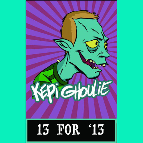 Kepi Ghoulie - 13 For '13 CS TAPE ~250 PRESSED! - Mooster - Dead Beat Records