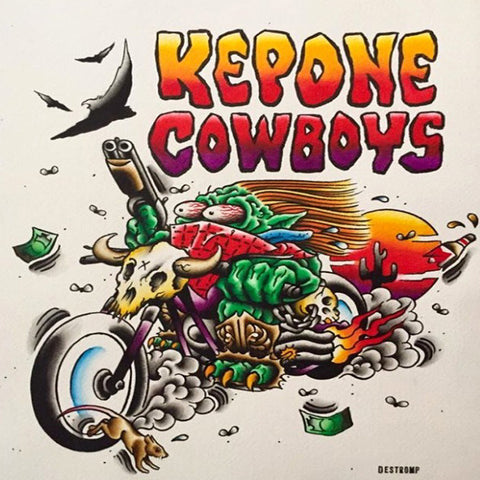 Kepone Cowboys- All Hat, No Cattle CD ~NINE POUND HAMMER!