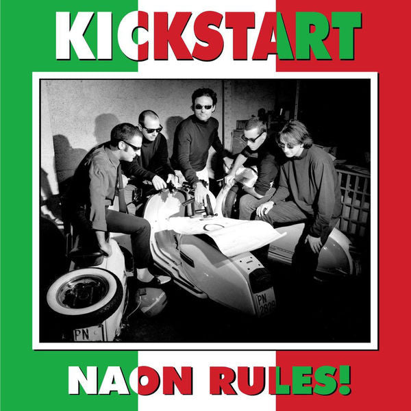 Kickstart- Naon Rules! CD ~REISSUE! - Paisley Archive - Dead Beat Records