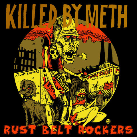 V/A- Killed By Meth LP ~KILLER! - It's Trash - Dead Beat Records