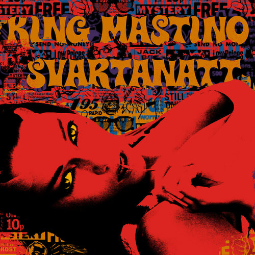 "King Mastino / Svartanatt- Split 7"" ~RARE YELLOW GOLD WAX LTD TO 100!"