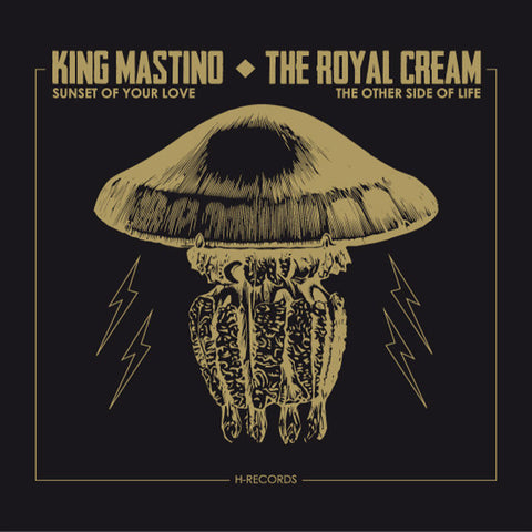 "King Mastino/Royal Cream- Split 7"" ~EX SEWERGROOVES! - H Records - Dead Beat Records"