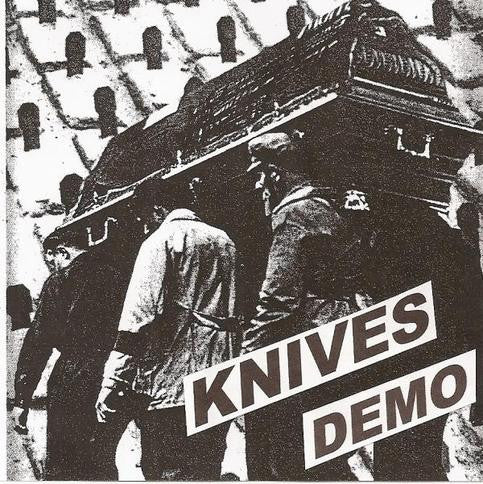 Knives- Demo CD - FLAT BLACK - Dead Beat Records