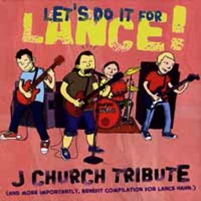 V/A- Let's Do It For Lance J CHURCH/CRINGER TRIBUTE CD - Vinehell - Dead Beat Records