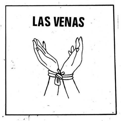 "Las Venas- S/T 7"" ~THE BAGS!"