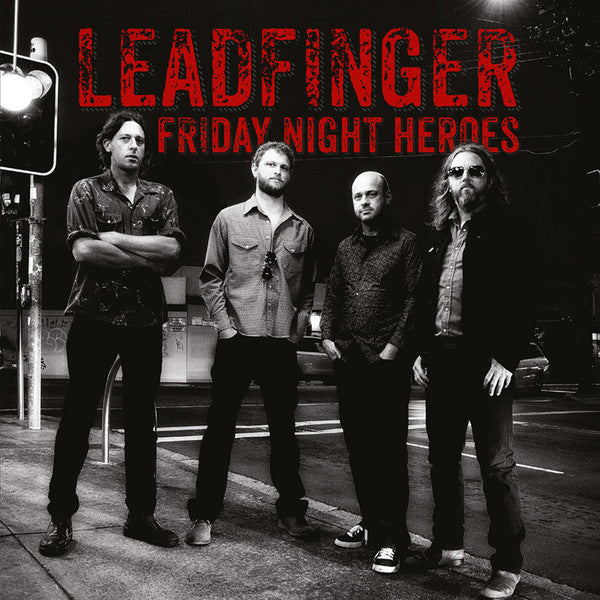 Leadfinger- Friday Night Heroes LP ~EX ASTEROID B-612! - Conquest Of Noise - Dead Beat Records - 1