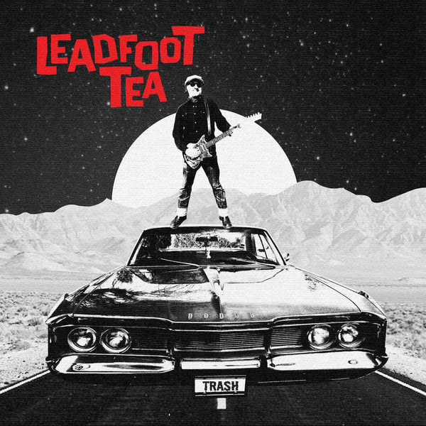 "Leadfoot Tea- Coronet Hemi 7"" ~GORIES / WHITE WAX LTD TO 100!"