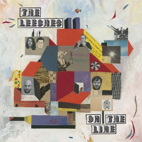 Leeches- On The Line LP ~ADOLESCENTS!