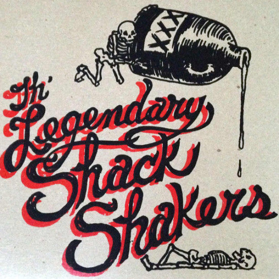 "Legendary Shack Shakers- Go Hog Wild 7"" ~HASIL ADKINS! - Arkam - Dead Beat Records"