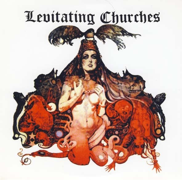 "Levitating Churches- Cry A Little Harder 7"" - No Squares Or Hippies - Dead Beat Records"