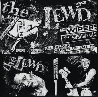 LEWD- Kill Yourself Again 2x LP - Demolition Derby - Dead Beat Records