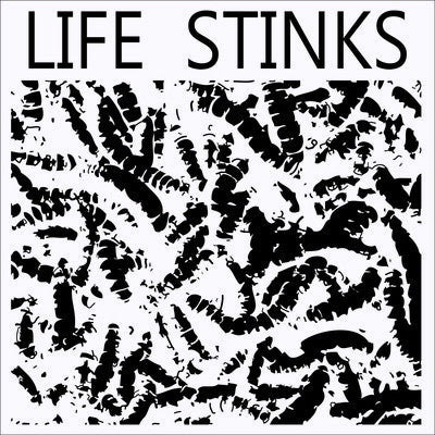 "Life Stinks- Shadow On The Wall 7"" ~OUTDOORSMEN! - Floridas Dying - Dead Beat Records"