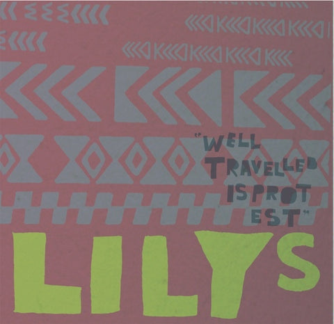"Lilys/Big Troubles- Split 7"" ~RARE COLORED WAX! - Speakertree - Dead Beat Records"