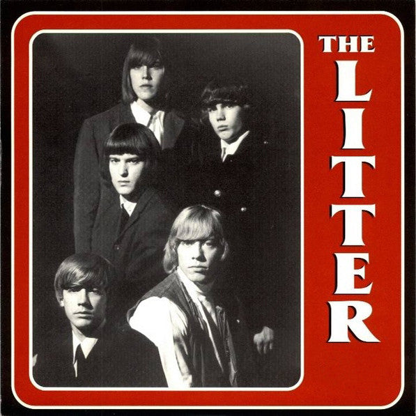 "The Litter- Action Woman 7"" ~RARE RED WAX! - Get Hip - Dead Beat Records"