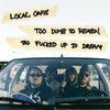 Local Oafs - Too Dumb To Reason, Too Fucked... LP ~HENRY FIATS OPEN SORE!