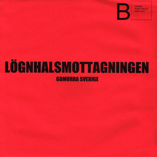 "Lognhalsmottagningen- Gomorra Sverige 7"" ~100 PRESSED! - Ken Rock - Dead Beat Records"